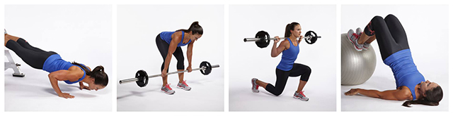 Photos from the New Rules Of Lifting: Supercharged (a great book and series by Lou Schuler and Alwyn Cosgrove).