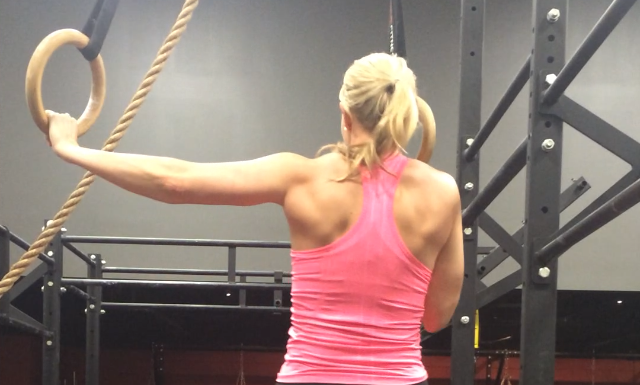 This back is the results of a lot of Pull-ups and Inverted Rows.