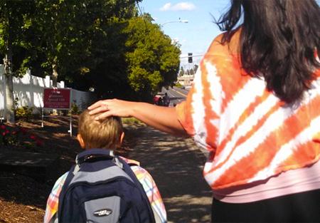 cara-son-walking-to-school-450x313