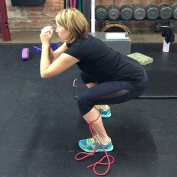 pregnancy-strength-training-squat-with-band-350x350