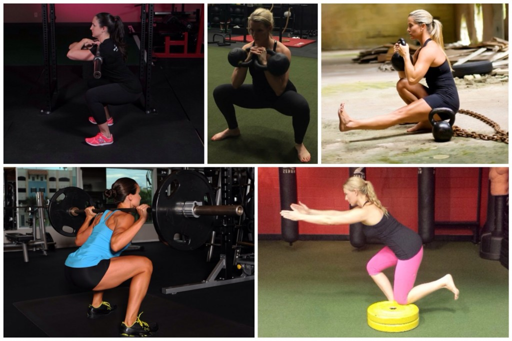 There are a variety of squatting options,